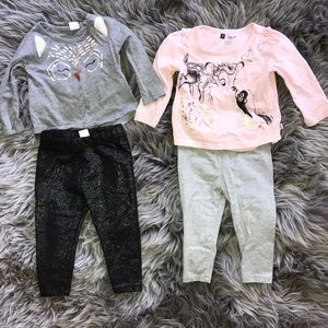 Baby Gap 12-18 M shirts and pants